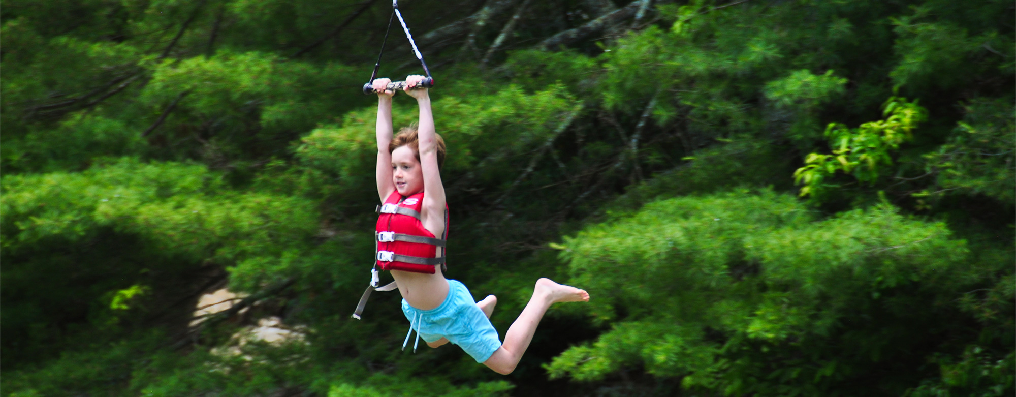 Build A Challenger >> Falling Creek offers 28 activities. Boys choose their schedules.
