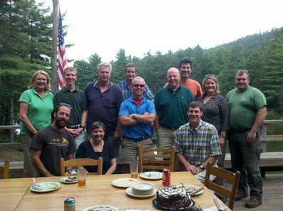 Falling Creek Camp celebrates Jim Goodrum's Birthday.