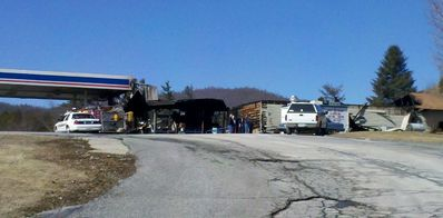 Fire Claims Greens Gas Station