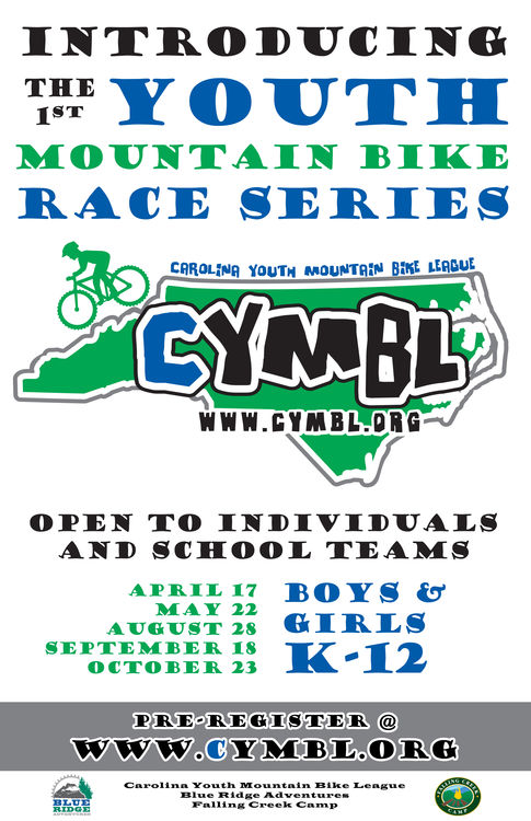Carolina Youth Mountain Bike League Series Poster