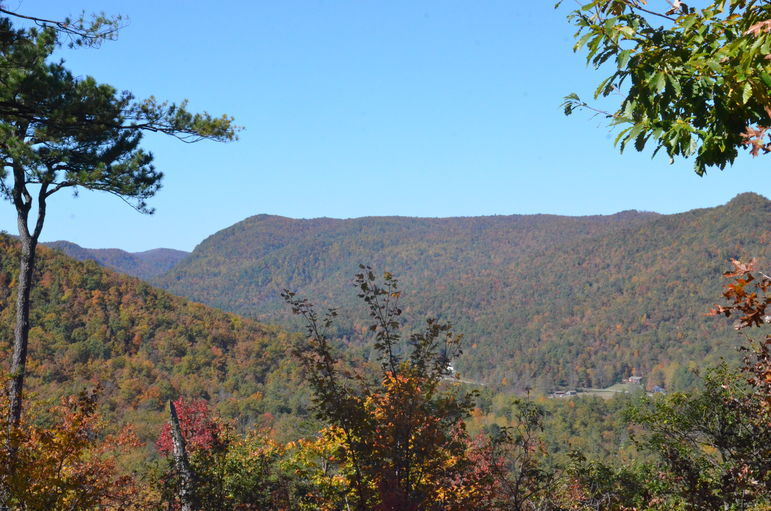 The Overlook at Falling Creek Camp October 16, 2011