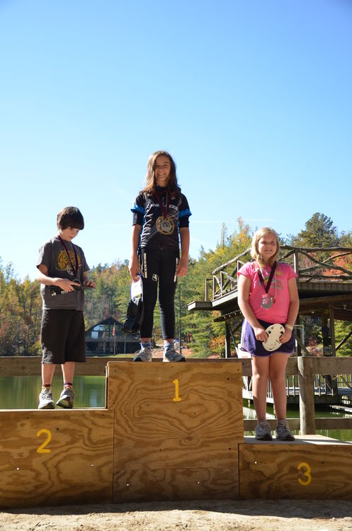 Mary Pharr takes 3rd place in the 2011 CYMBL Championship Race