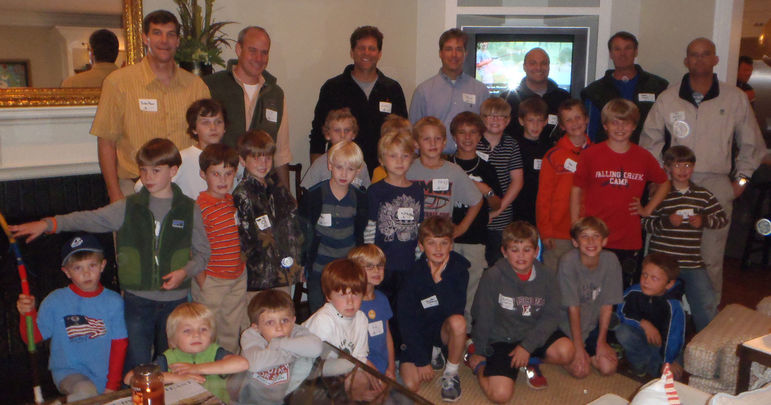 Falling Creek Camp Movies and Reunion hosted by the Gettys Family in Greenville on 10-9-12
