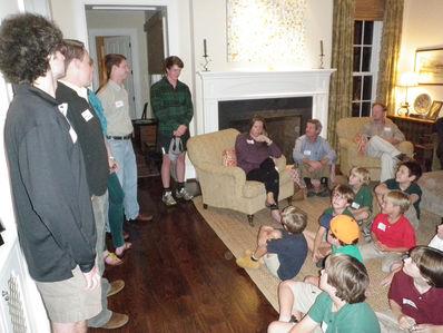 Falling Creek Camp Staff Members speaking in Nashville on 10-16-12