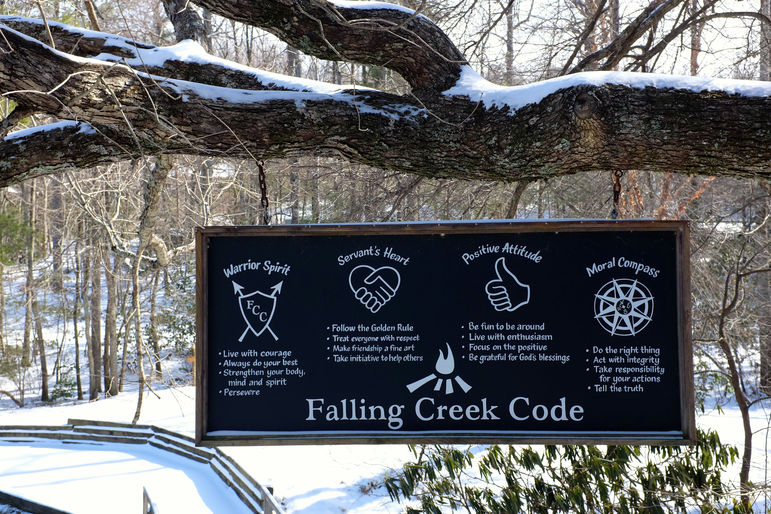 The Falling Creek Camp Code
