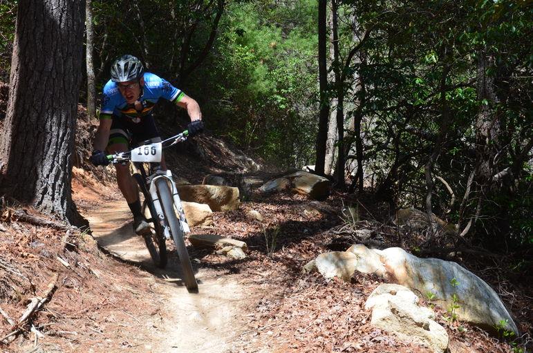 Major speed on Falling Creek Camp's 2.2 mile Ridgeline Trail
