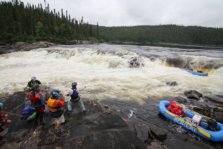 raft line
