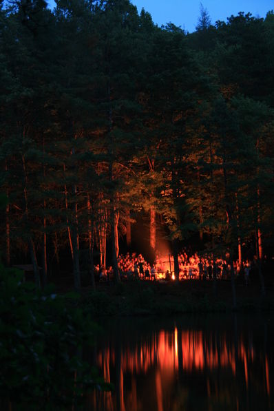 Campfires have remained one of Falling Creek's most memorable and treasured traditions among both campers and staff. This is