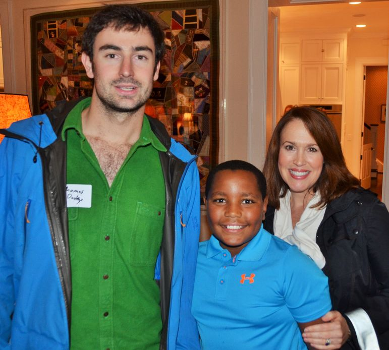 The Thomas Dooley, camper Watts and his mother Elizabeth