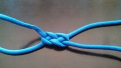 Falling Creek Carrick Bend Knot