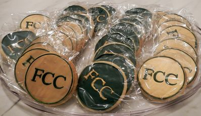 Wow!  FCC Cookies....yum!