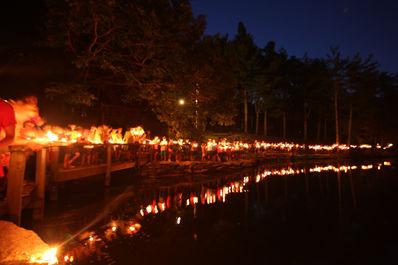 candlelight falling creek