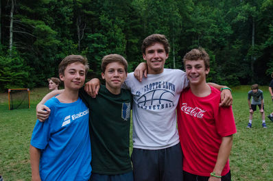 friends, falling creek camp