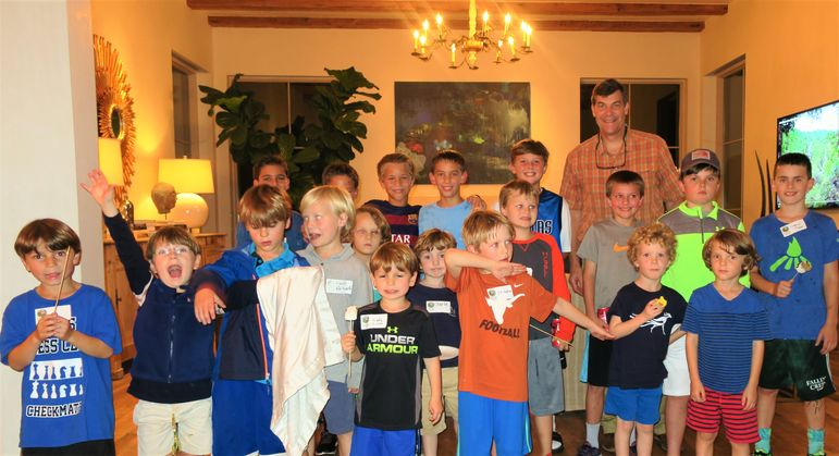 There was a large group of young boys who came tonight to learn more about Falling Creek Camp.