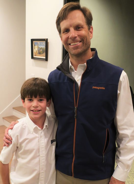 Brian Minnehan, and his son Patrick, have been coming to Father/Son Weekend for about 5 summers now.  Patrick's younger brother Davis was thrilled to join them this past year.
