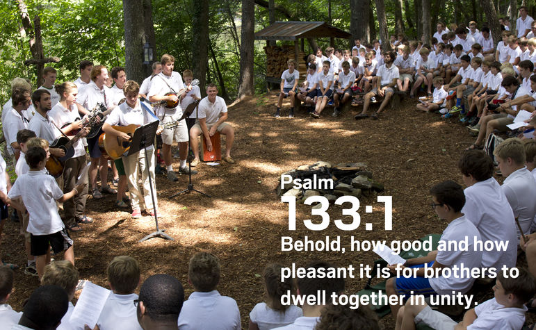 Behold, how good and how pleasant it is for brothers to dwell together in unity. — Psalm 133