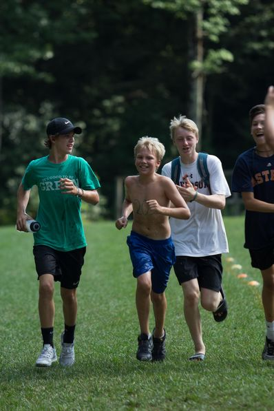 During the Main Camp session, campers have the opportunity to participate in the annual Ironman triathlon, a tradition that started back when Yates and Goody were campers in the early 80's when triathlons first became popular.
