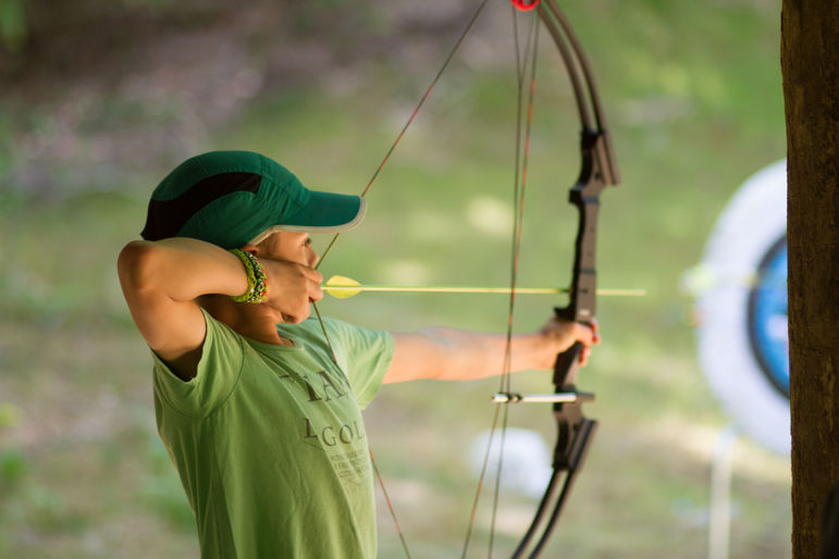 We use an Archery progression system at camp. You will have the opportunity to earn as many different levels your skill allows.