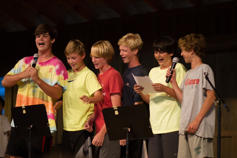 The Falling Creek Theater program facilitates the creativity of campers and  staff. Campers have the opportunity to participate in morning assembly 11fb82eee5a5