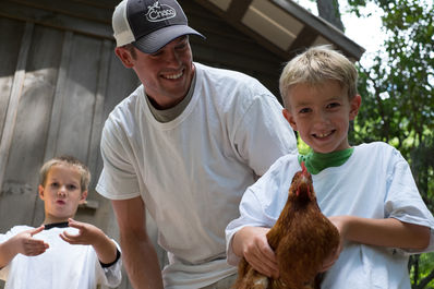 Our FARM program is a chance for campers and staff to interact and understand the natural world.