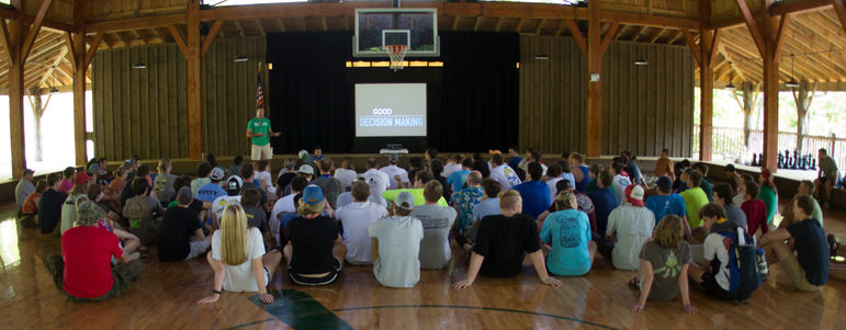 We provide professional development and leadership development to our camp staff.