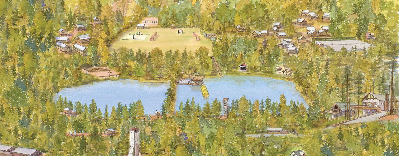 Falling Creek Map