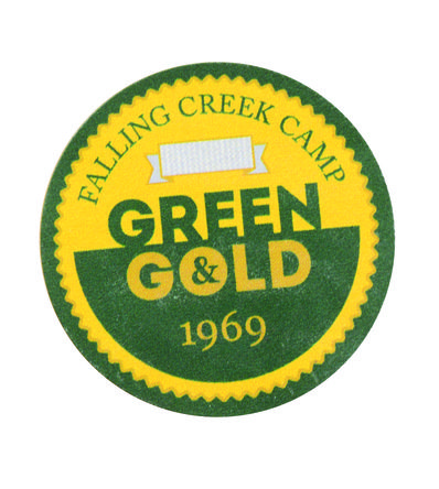 Green and Gold Award Waypoint Marker