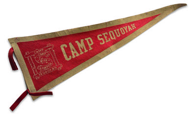 Camp Sequoyah banner. It was a historic North Carolina Summer Camp
