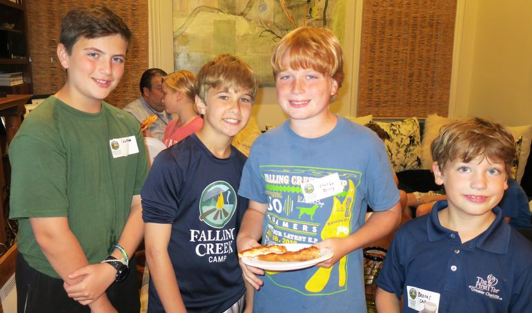 A few of our incredible campers from New Orleans!