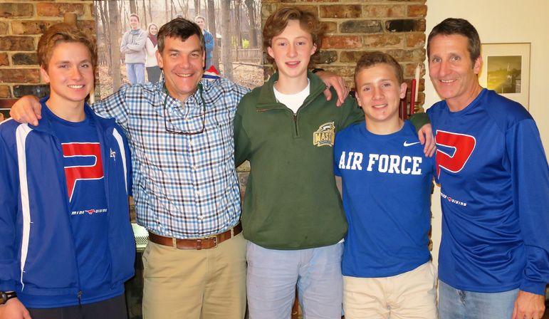 Bennett Broad, Yates, Whit Flickinger, Lance and Rick Broad