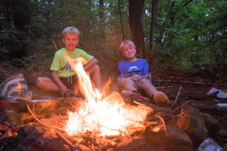 See you this summer for more memories around the campfire on Cabin Overnights!