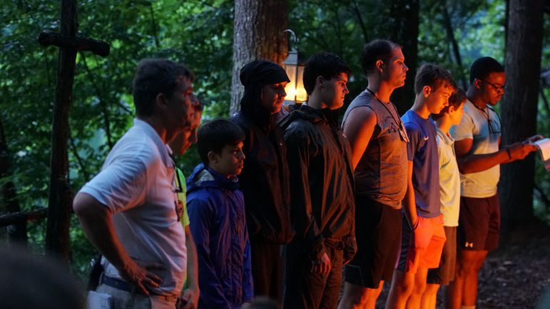 Introducing some of last summer's Journeymen at Campfire in 2018