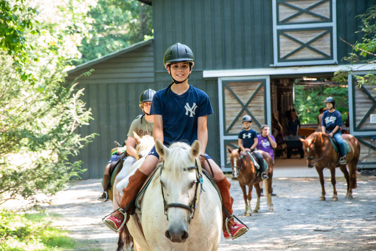 Trail riding this afternoon with our favorite horses!