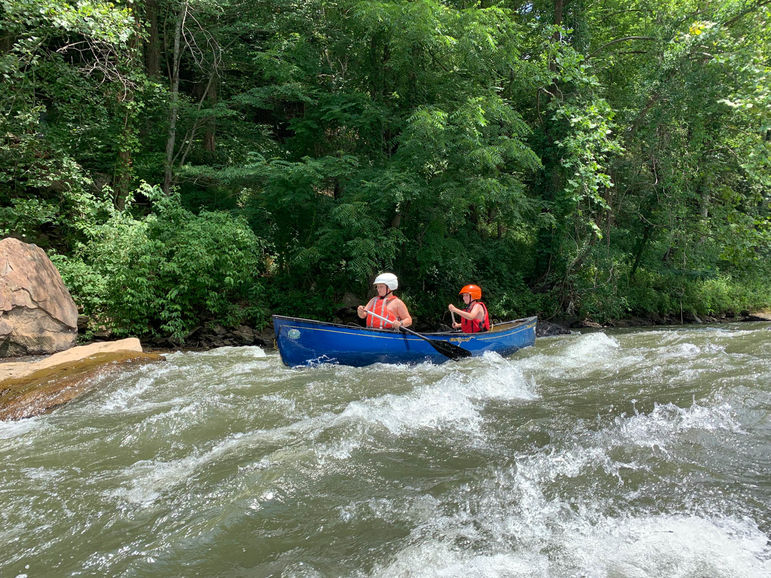 Part of the Yaklet earning process on the Tuckasegee