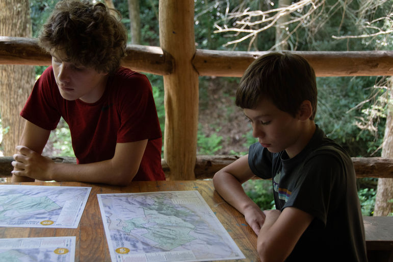 Learning map reading and navigation skills in OSC