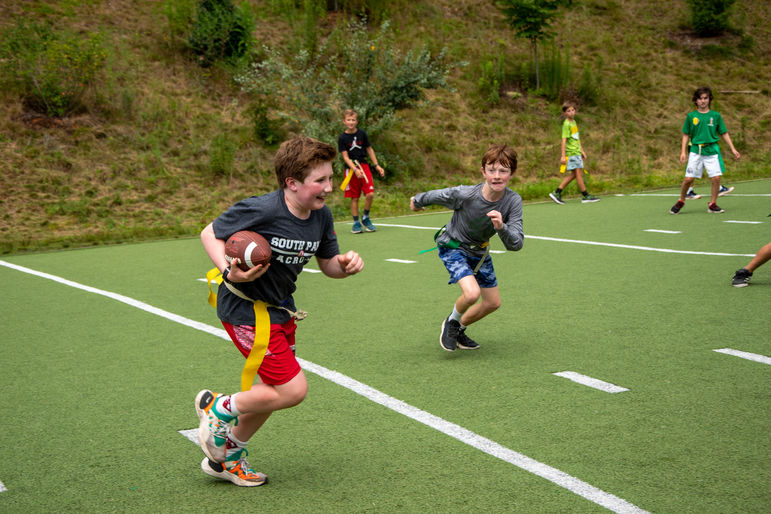 Flag football is as popular as ever this session!