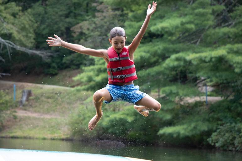 Free Swim = Joy!