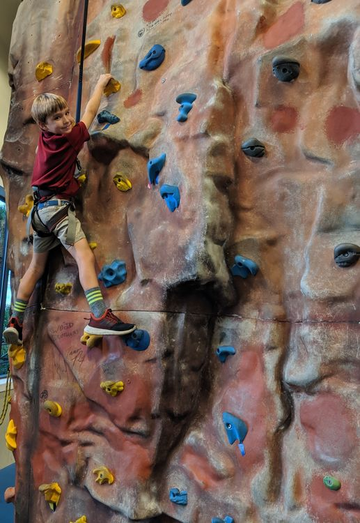 Thanks to our camp friends Beezer and Emily Molten for inviting us to host the Charleston event at their big Half-Moon Outfitters West Ashley store! The rock wall was a hit.