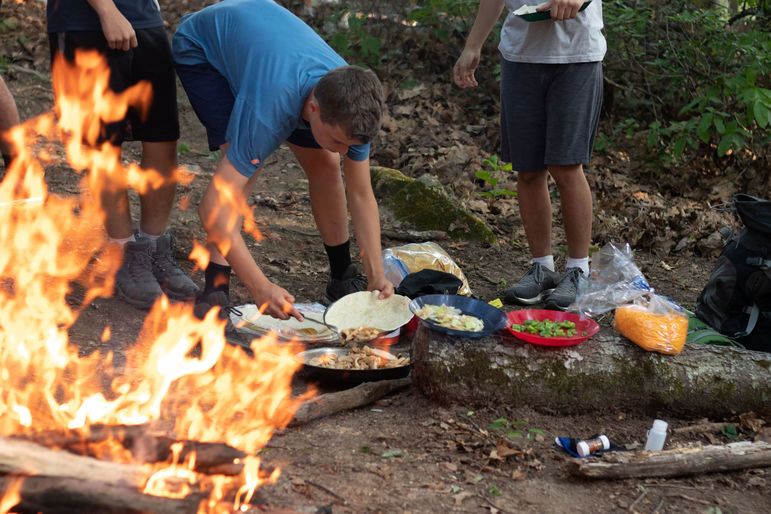Tasty camp cooking makes any campout infinitely better